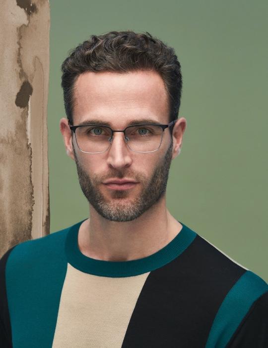 OWP - man - glasses - eyewear - Van der Geest Optiek