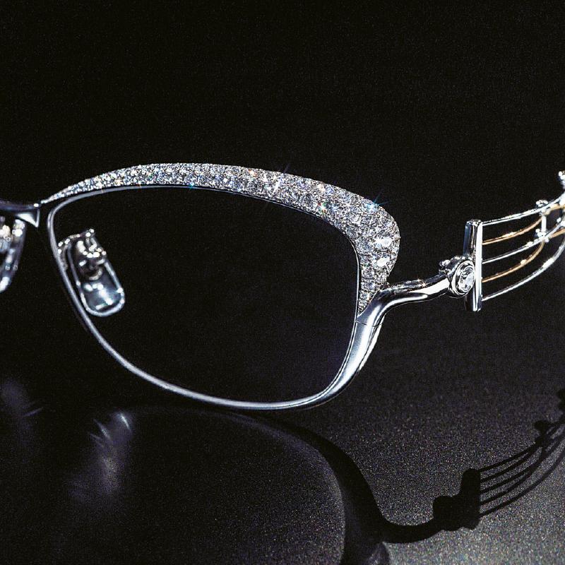 Line Art Charmant - diamonds - Van der Geest Optiek