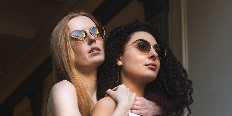 Monkeyglasses - Groen - vrouwen - koppel - Van der Geest Optiek