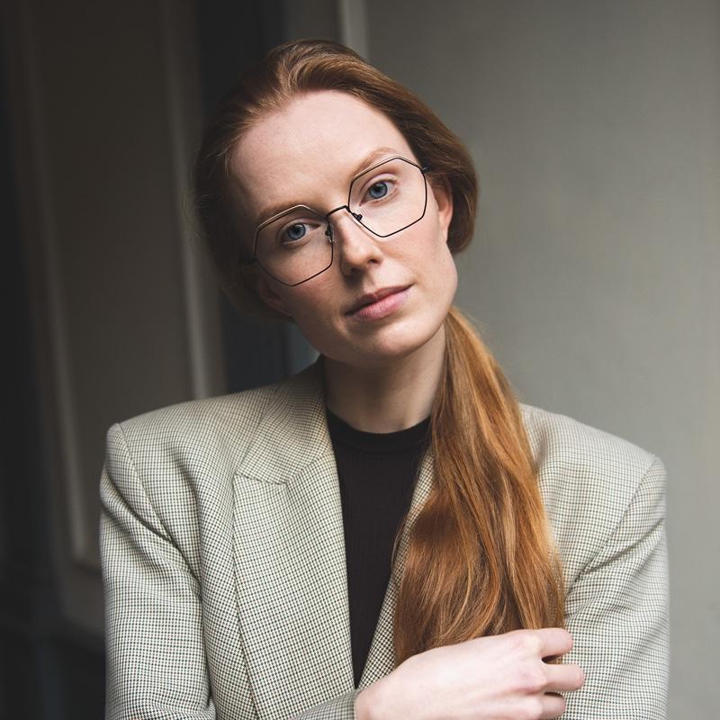 Monkeyglasses - Groen - vrouw - thilde - Van der Geest Optiek
